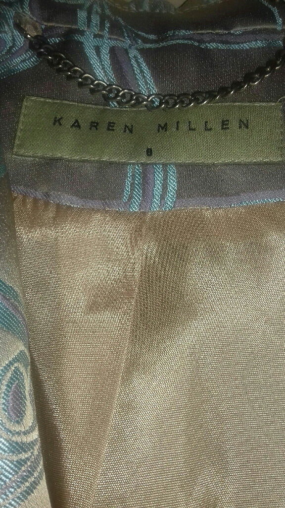 KAREN MILLEN LOVELY PATTERN COAT