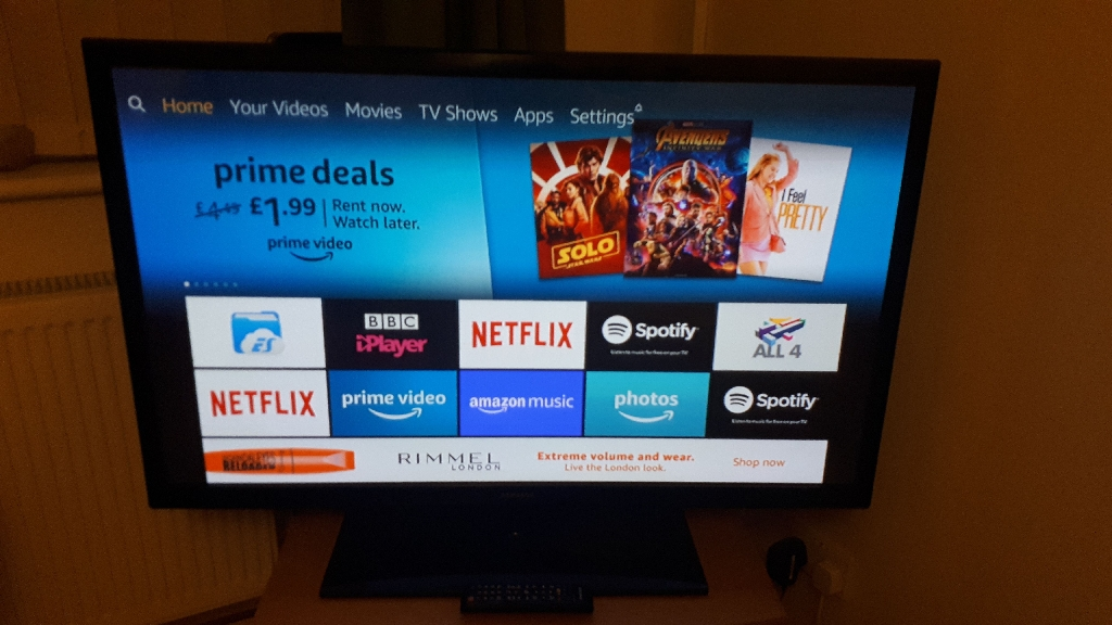 Samsung 46 inch Plasma Display TV Television PS43F4500AWXXU Excellent Condition