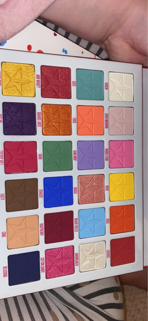 Jeffree star cosmetics jawbreaker pallete