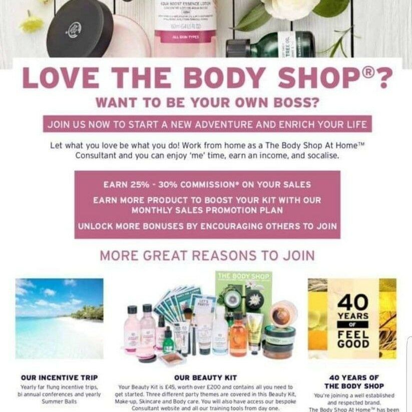 become a bodyshop at home rep