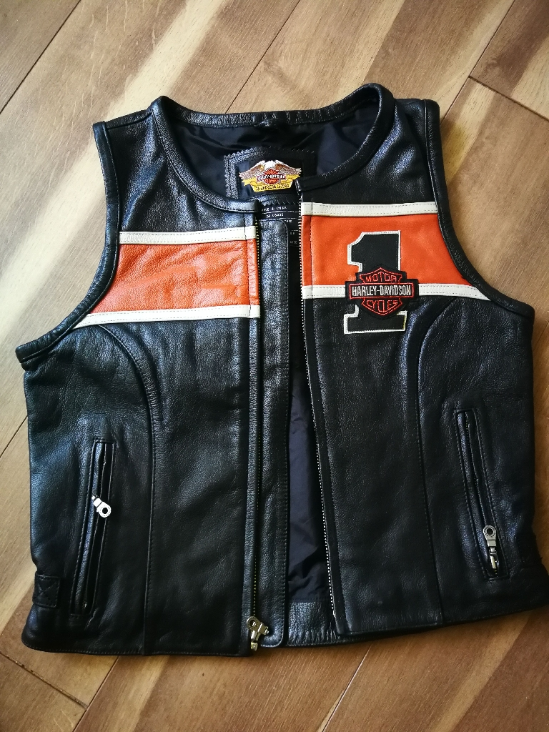 Harley-Davidson Genuine Leather Waistcoat