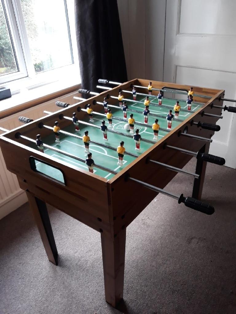 Multi games table pool football