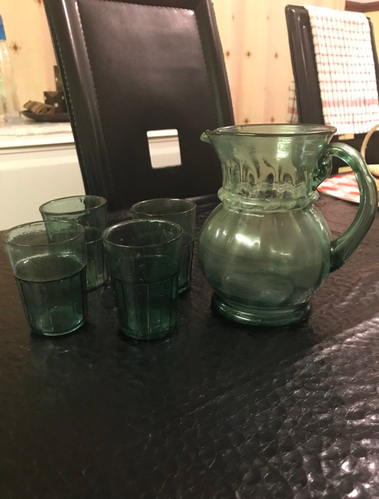 5 Piece Jug and Mini Glass Set