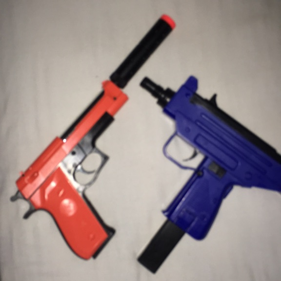 Two BB guns