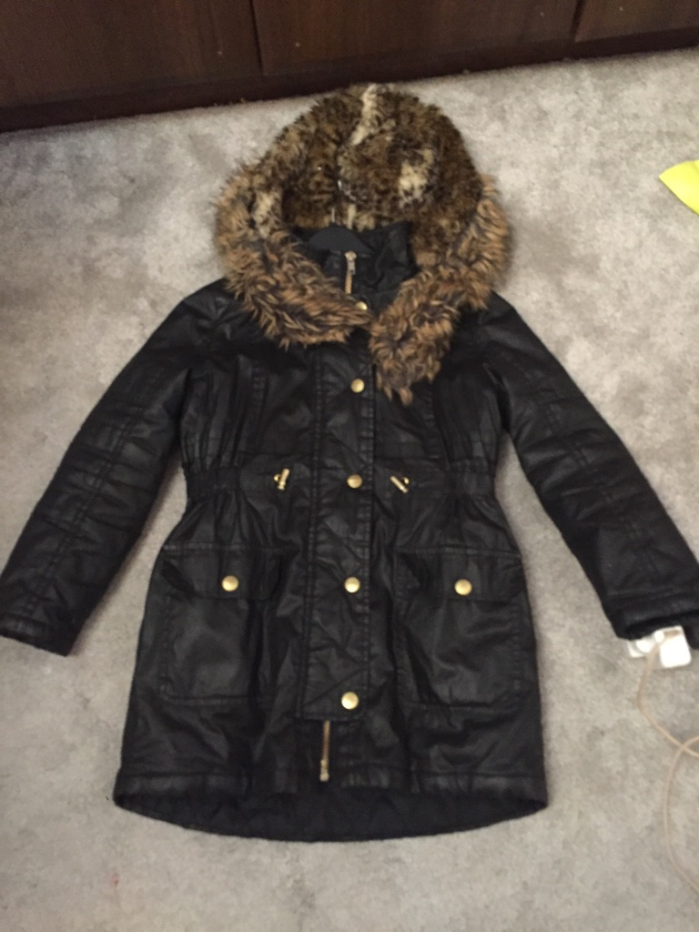 River island girls parka