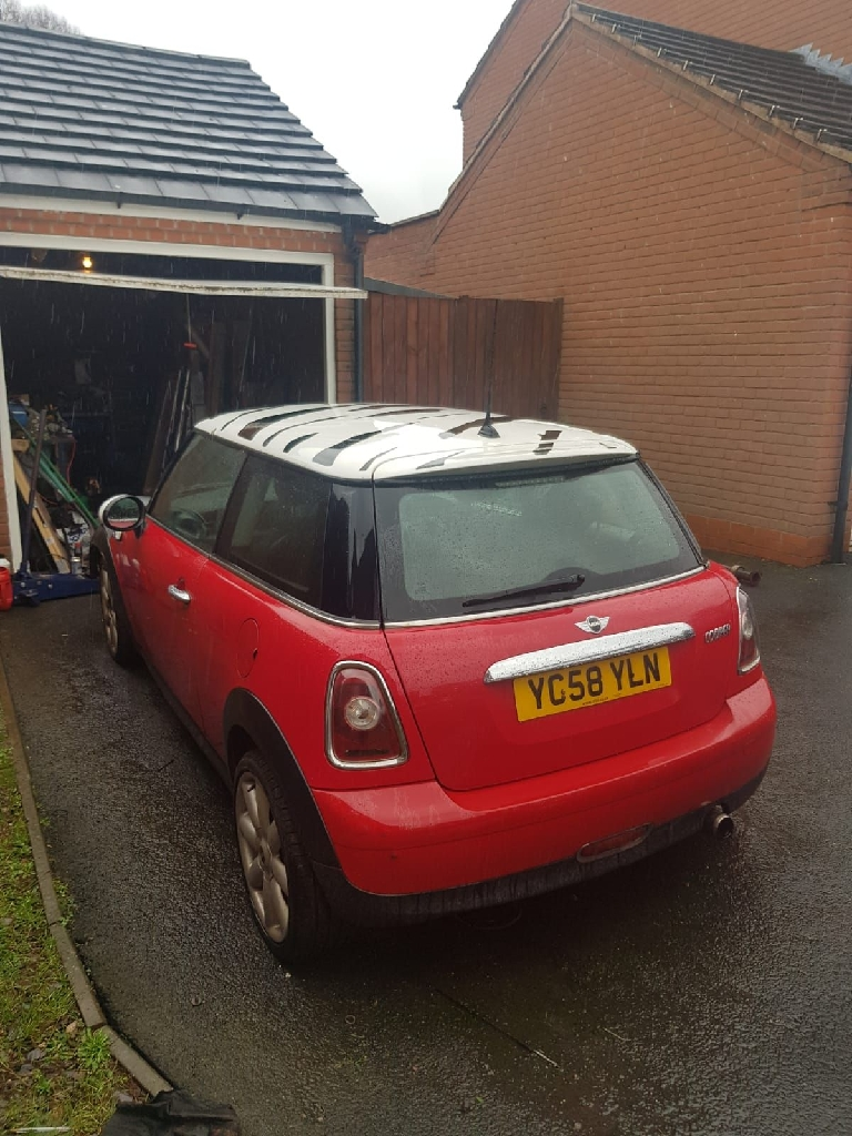 Mini Cooper unfinished project