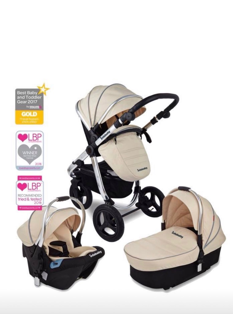 Infababy ultimo travel system in beige