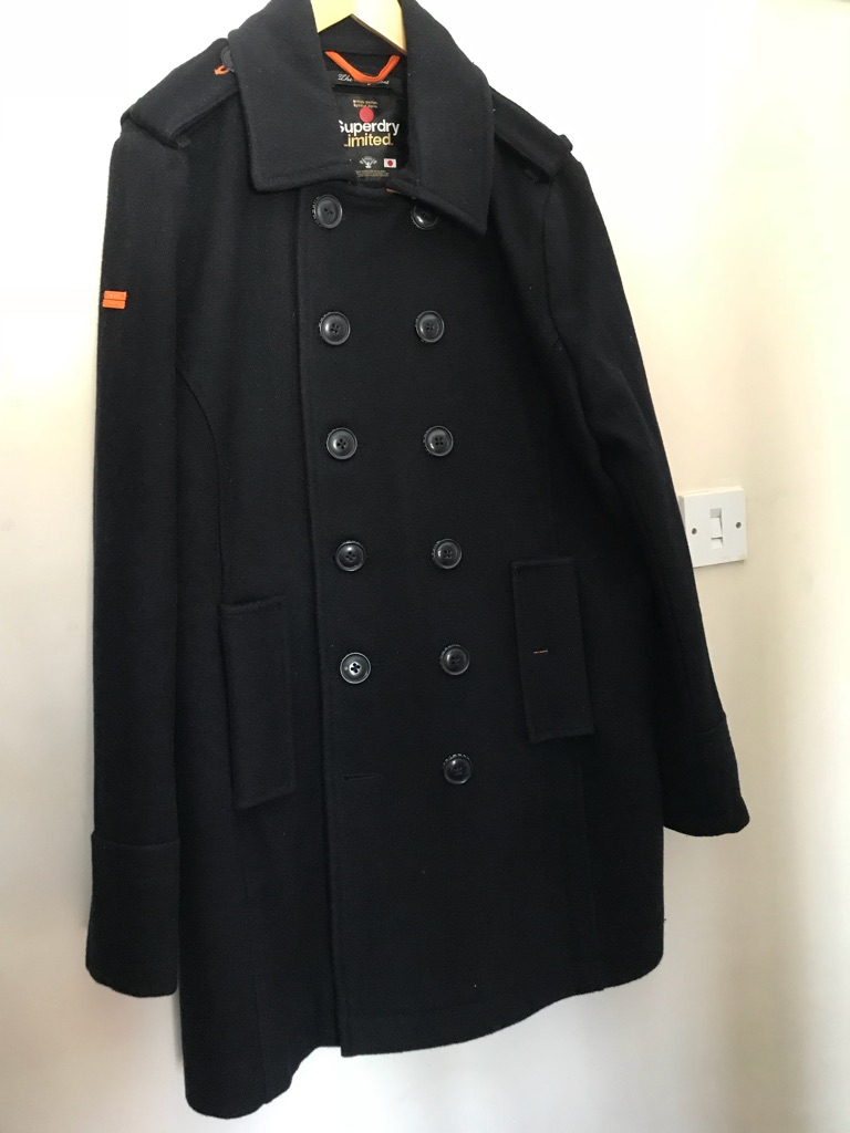 Superdry men's coat size large