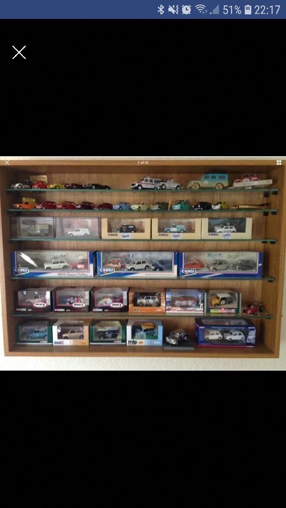 Display Cabinet- store e.g. Corgi cars/hornby toys etc