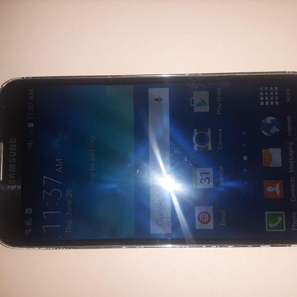 Like New Samsung Galaxy S4 Verizon/T-Mobile/MetroPCS/AT&T/Cricket Phone Unlocked Clear ESN Black