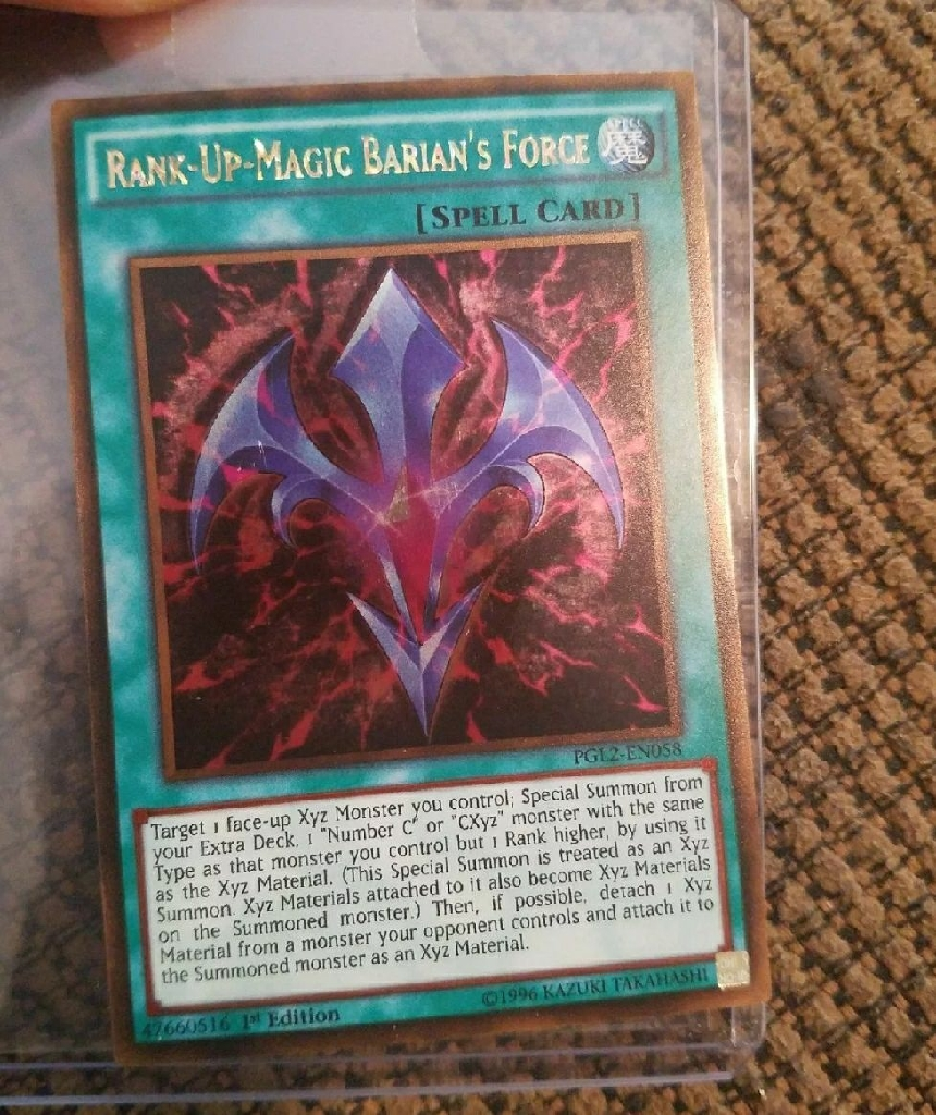 Yu-gi-oh Rank Cards Exceed Monsters