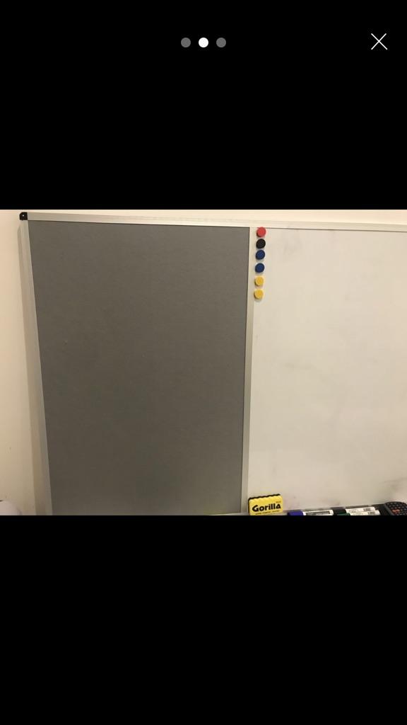 Whiteboard/white board/ notice board