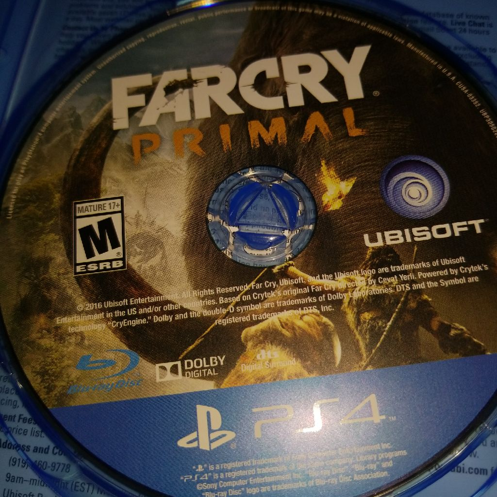 Far cry primal game for ps4
