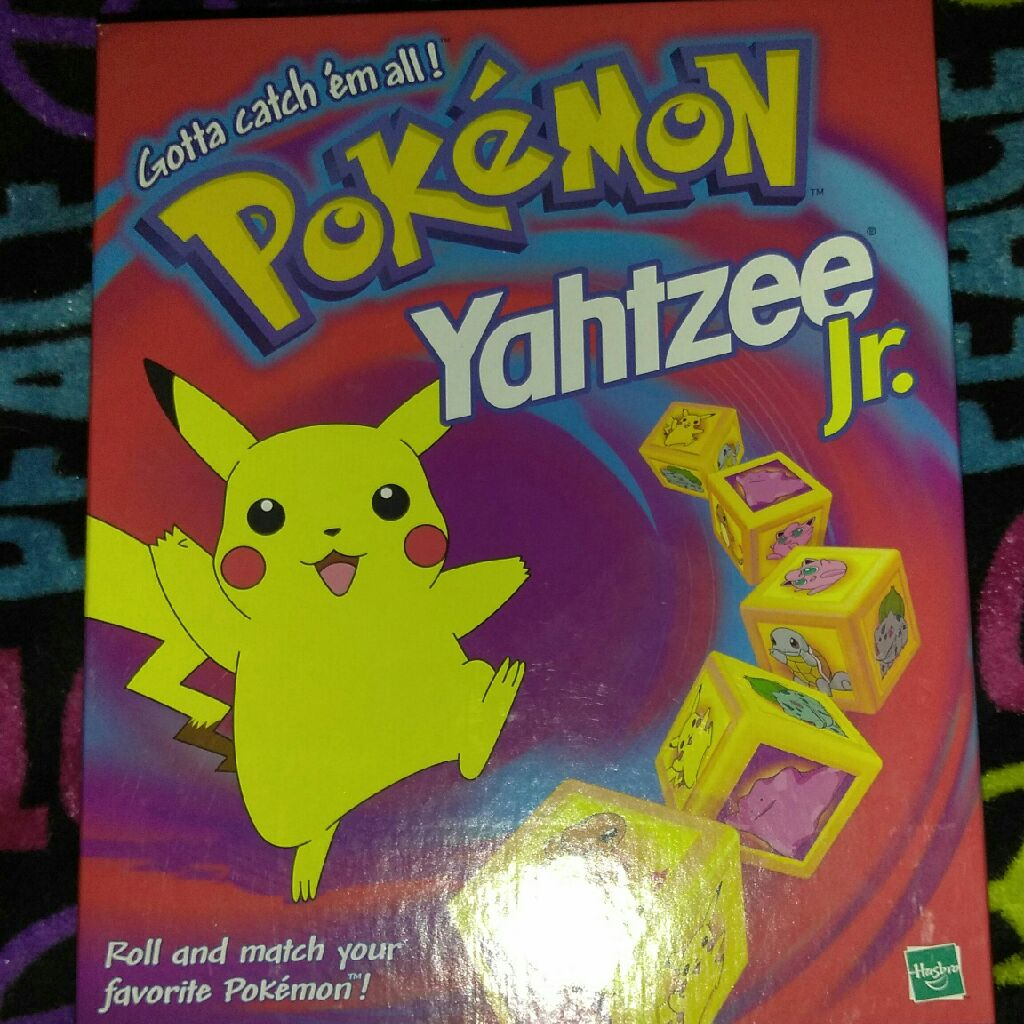 Pokemon yahtzee