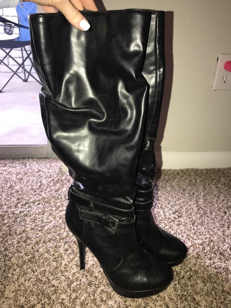 Black Boots 6.5