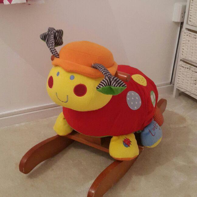 Ladybird rocking chair