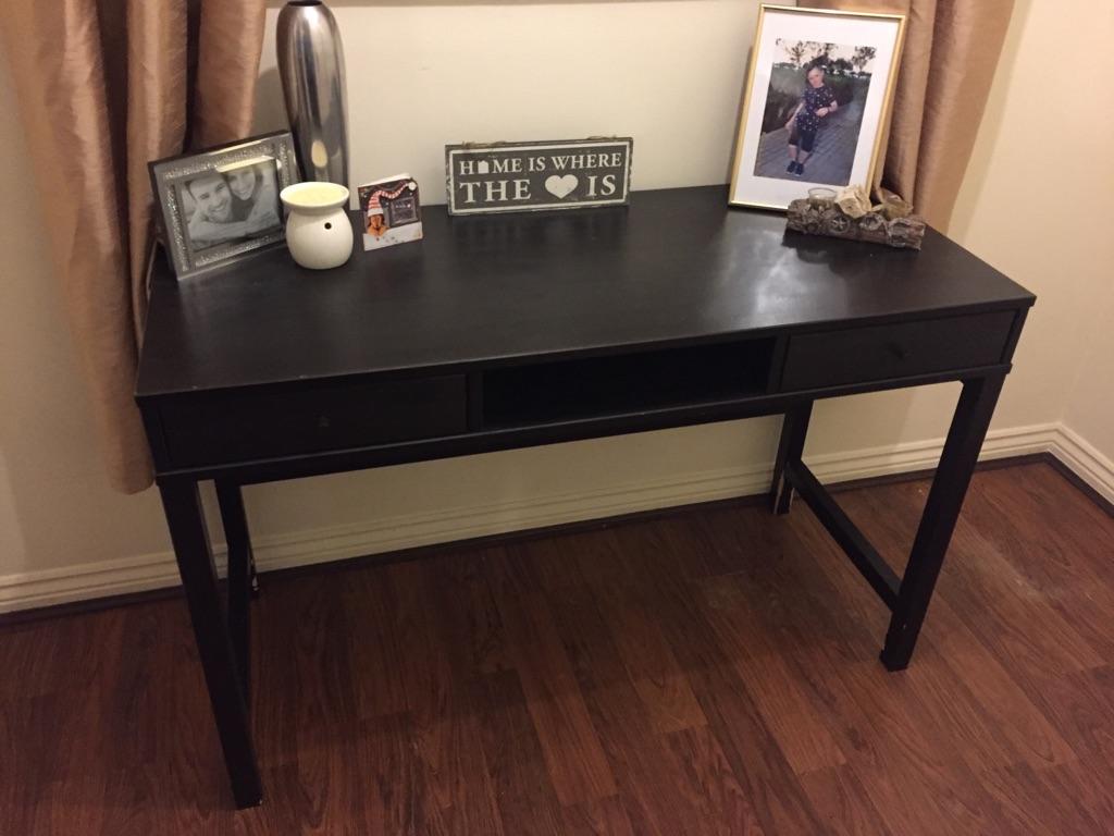 Black desk/dressing table