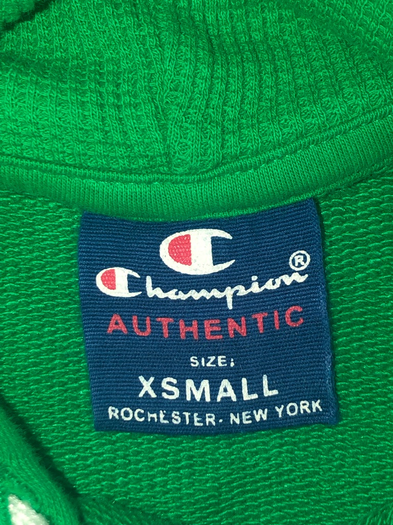 green champion jumper // xsmall