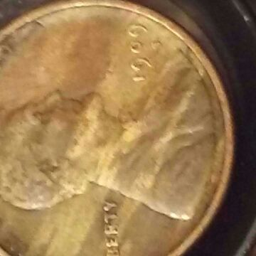 A 1909 S , penny