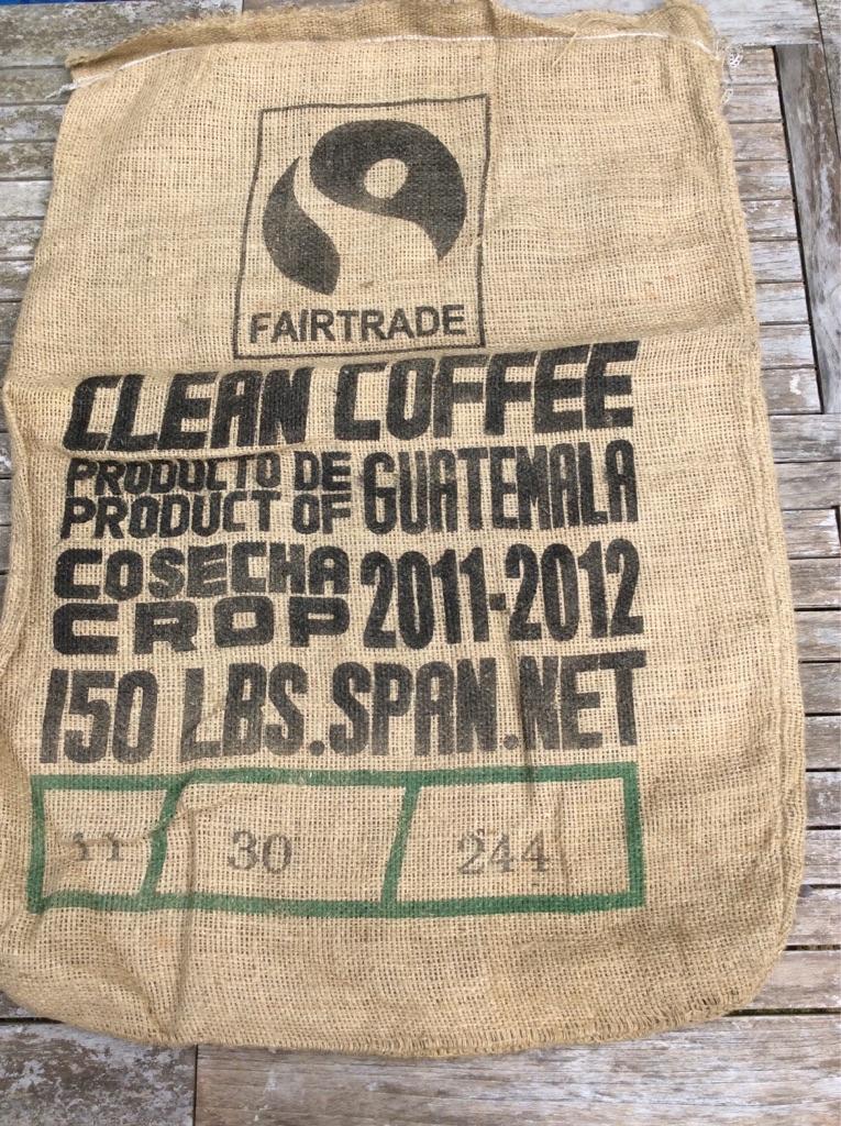 20 Jute/Hessian Coffee sacks