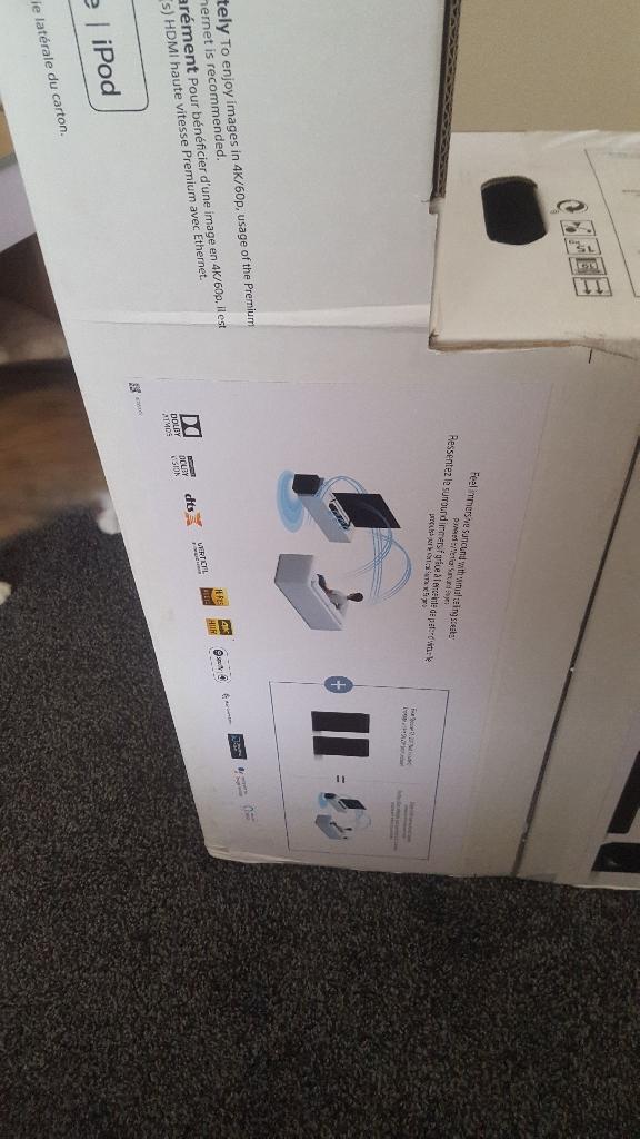 Sony sound bar barre deson ht zf9