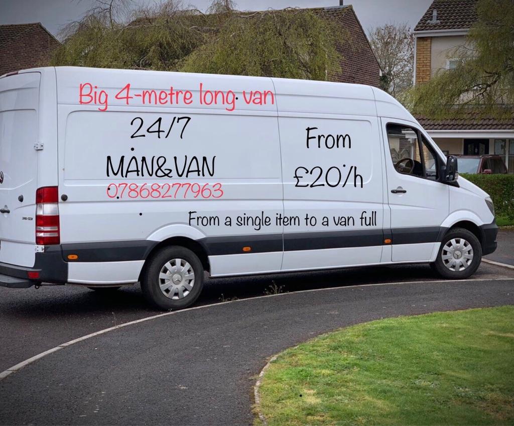 Man & Van 24/7 service