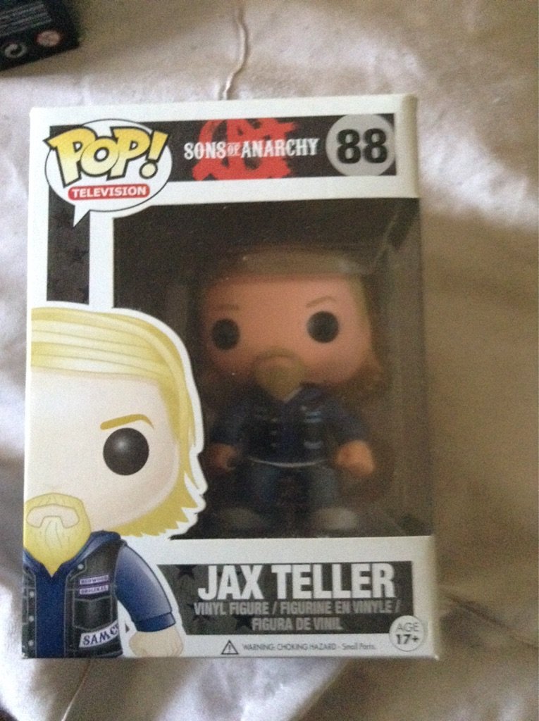 Three Jax Teller Sons Of Anarchy figures