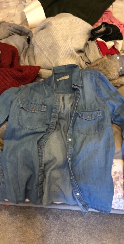 New look denim shirt
