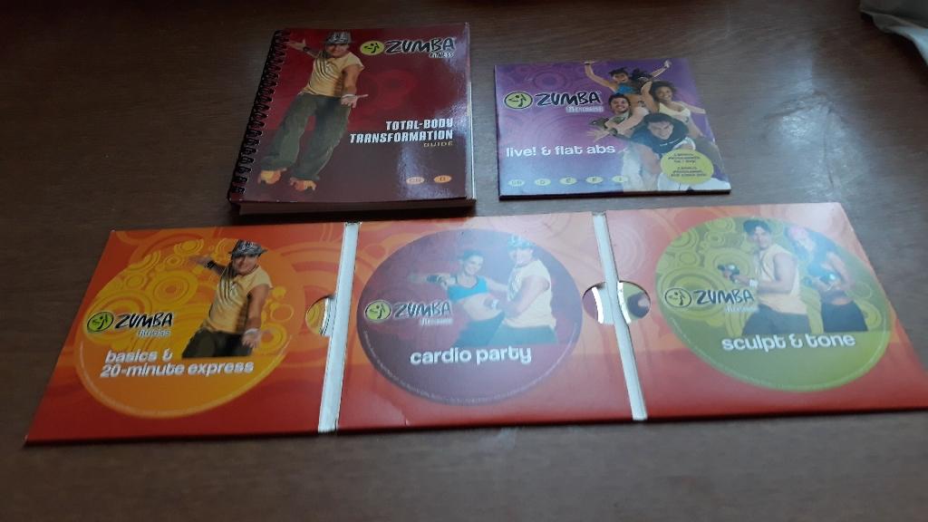 Zumba toning sticks + dvds
