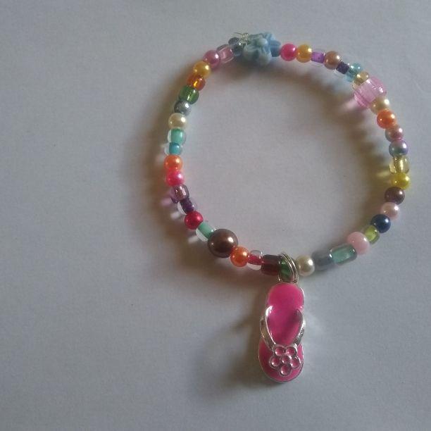 Kids bracelet with charm