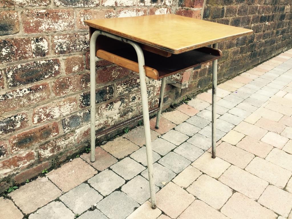 Old Child's School Desk