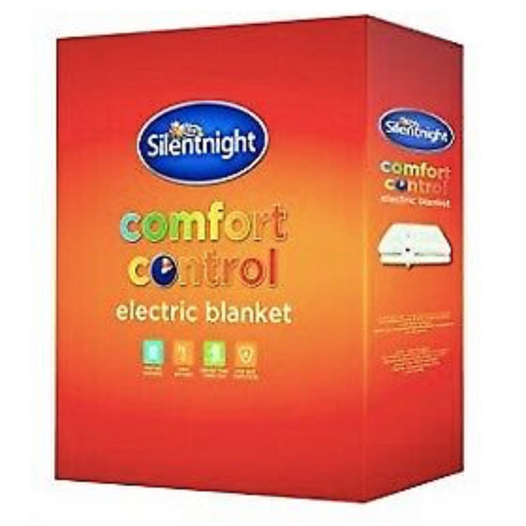 Silent night comfort control electric blanket SINGLE