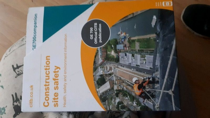 Construction and site safety books - CITB