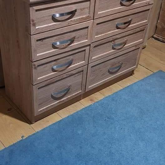 New oak drawer £140