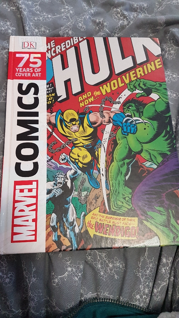 Marvel Comics Cover Art book