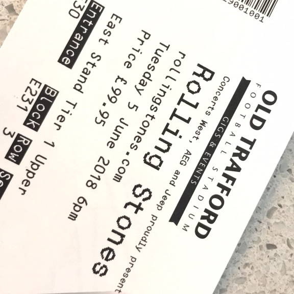 Rolling stone tickets