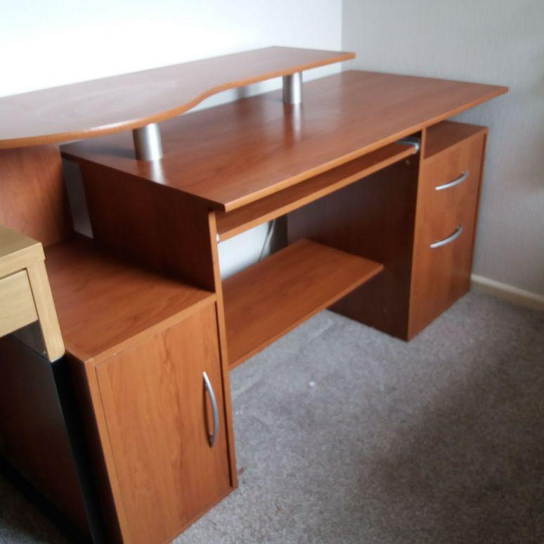 Crafting/computer desk