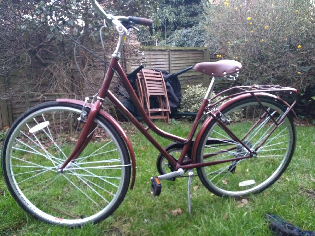 Almost new vintage style bicycle