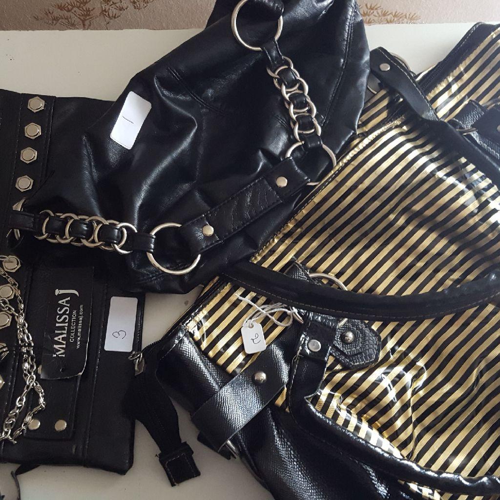 Black MALISSA Bags