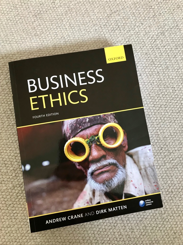 Business Ethics 4th ed. Crane & Matten -50%