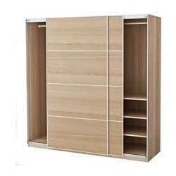 Ikea PAX sliding door wardrobes