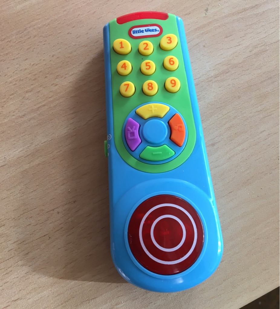 My first remote control
