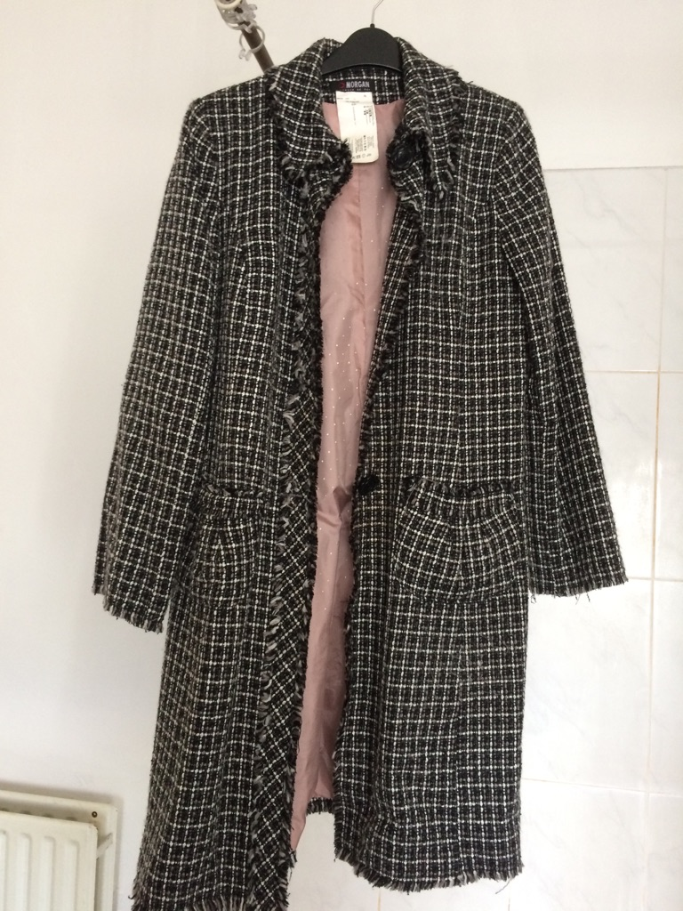Morgan wool mix coat
