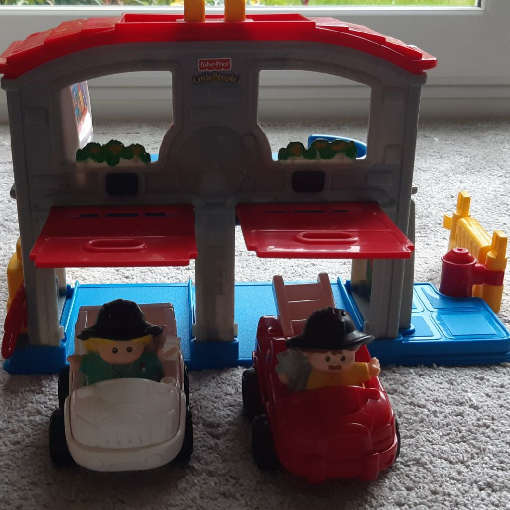 Little People Emergency Services Set