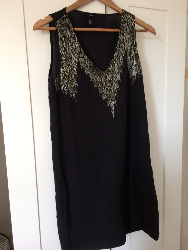 H&M black dress in great condition