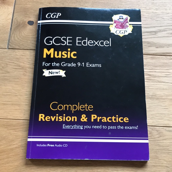 GCSE EDEXCEL MUSIC REVISION AND PRACTICE BOOK