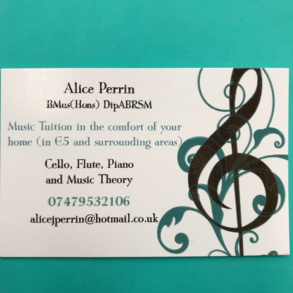Cello, Flute, Recorder, Piano and Music Theory lessons
