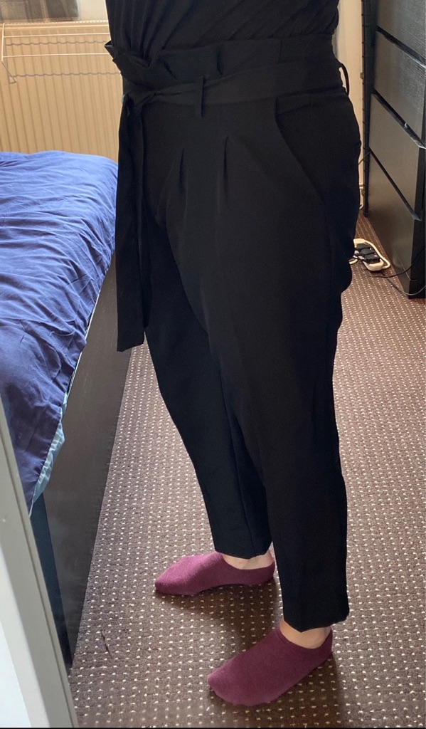 New Look Black Size 12 Trousers