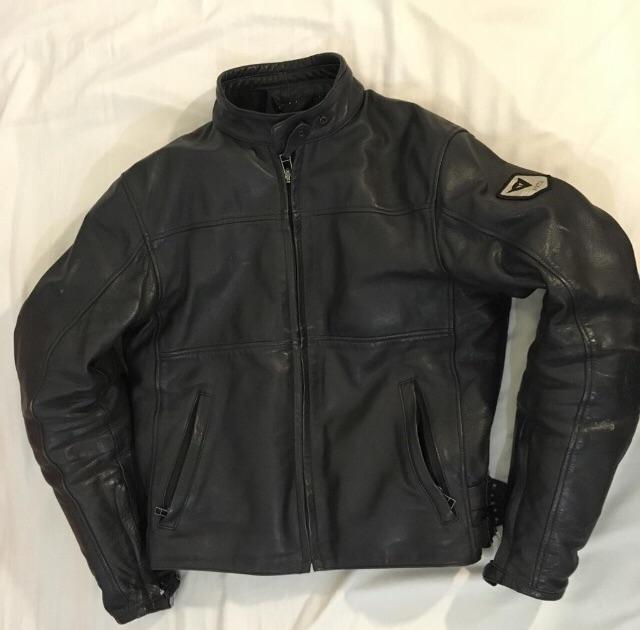 Dainese 100% leather jacket motorcycle