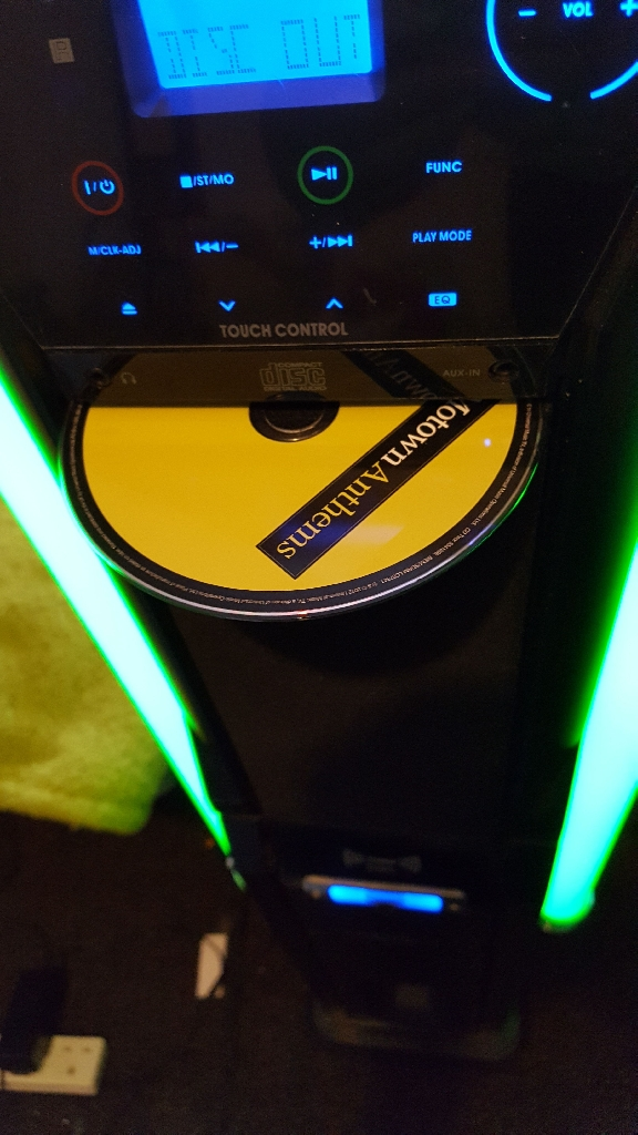 Active Subwoofer Stereo With Optional Strobe Lighting